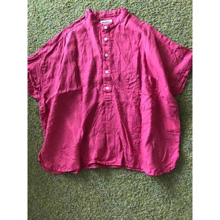 ビームスボーイ(BEAMS BOY)のビームスボーイ リネン  ブラウス シャツ(シャツ/ブラウス(半袖/袖なし))