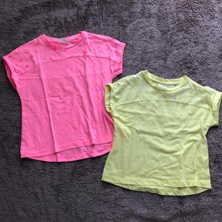 ザラキッズ(ZARA KIDS)の姉妹お揃いコーデ 半袖Tシャツ 100cm・110cm(Tシャツ/カットソー)