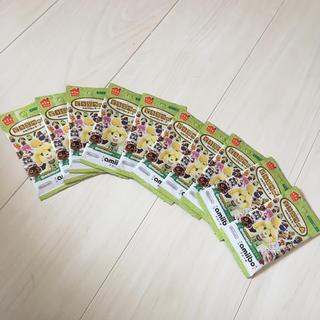 [即発送]どうぶつの森 amiiboカード 第1弾 10パック 新品未開封