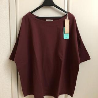 スタディオクリップ(STUDIO CLIP)のスタジオクリップ 新品 USAコットンボートネック半袖プルオーバー(Tシャツ(半袖/袖なし))