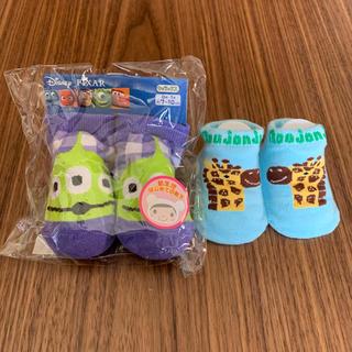 ディズニー(Disney)の新品 ベビー靴下 男の子  moujonjon 9〜11 Disney 7〜10(その他)