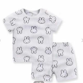 新品 うさぎ柄 パジャマ 半袖 miffy(パジャマ)