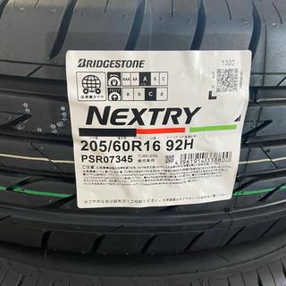 ブリヂストン(BRIDGESTONE)の夏タイヤ 205/60R16 ブリジストン NEXTRX 2本セット(タイヤ)