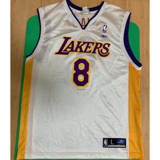 Reebok - NBA ユニフォーム レイカーズ  コービーブライアント Lサイズ リーボック