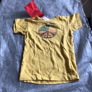 デニムダンガリー(DENIM DUNGAREE)の新品タグ付きデニムダンガリーTシャツ サイズ110(Tシャツ/カットソー)