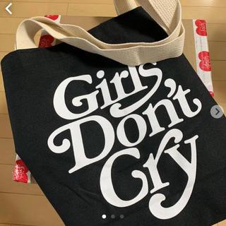 ジーディーシー(GDC)のgirl's don't cry トートバッグ ブラック(トートバッグ)