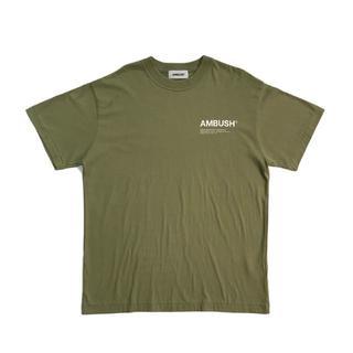 アンブッシュ(AMBUSH)のAMBUSH 半袖 Tシャツ オリーブ L サイズ3(Tシャツ/カットソー(半袖/袖なし))