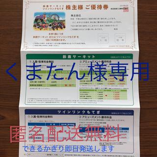 ホンダ 株主優待券 鈴鹿サーキット入園駐車場無料(遊園地/テーマパーク)