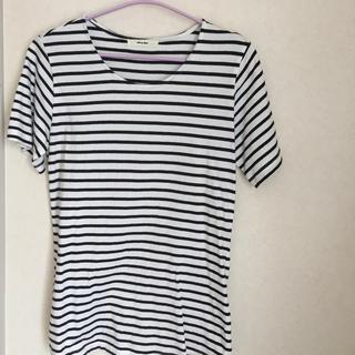 *ボーダーTシャツ Lサイズ*(Tシャツ(半袖/袖なし))