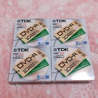 ティーディーケイ(TDK)の⑦  TDK  DVD-R  10枚入り×4個(その他)