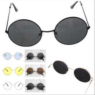 売り切れ続出 ラウンドメタル型 丸サングラス お洒落 丸メガネ