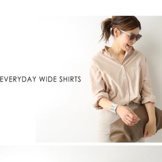 DEUXIEME CLASSE - 新品☆Deuxieme Classe EVERYDAY ワイドシャツ
