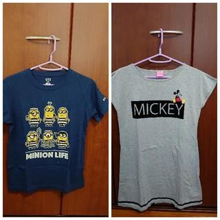 ディズニー(Disney)のガールズ 150cm 2点セット(Tシャツ/カットソー)