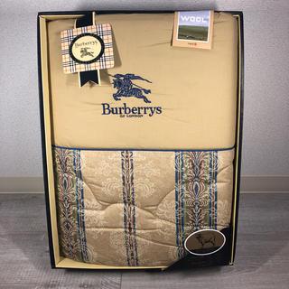 バーバリー(BURBERRY)のBURBERRYS 羊毛掛け布団(布団)