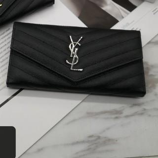 Yves Saint Laurent Beaute - 大人気(*^^*) Y♪S♪L 長財布  小銭♪入れ ブラック