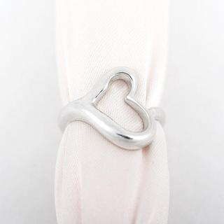 ティファニー(Tiffany & Co.)のティファニー オープンハート リング SV925 7号 (N00612)(リング(指輪))