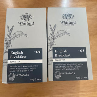 ルピシア(LUPICIA)のwhittard English breakfast 50 Teabags(茶)