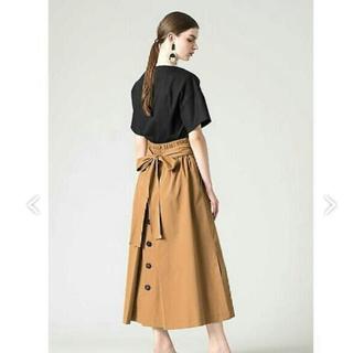 アドーア(ADORE)のアドーア   テクノベンタイルスカート  (ロングスカート)
