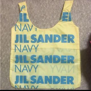 ジルサンダー(Jil Sander)の非売品 未使用 ジルサンダー ネイビー エコバッグ (エコバッグ)