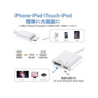 HDMI 変換ケーブル (白)(映像用ケーブル)