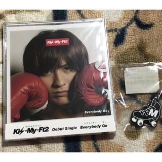 キスマイフットツー(Kis-My-Ft2)の宮田俊哉 Everybady Go キスマイショップ盤(アイドルグッズ)