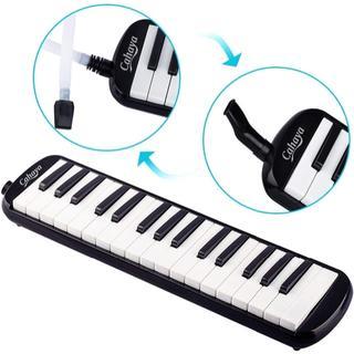 CAHAYA Melodica 鍵盤ハーモニカ 32鍵 メロディオン 立奏唄口 (キーボード/シンセサイザー)