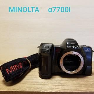 コニカミノルタ(KONICA MINOLTA)の【動作良好】MINOLTA α 7700i フィルムカメラ(フィルムカメラ)