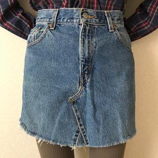 Levi's - 古着屋購入 used vintage Levi's リメイク デニムスカート