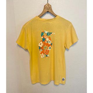 CHUMS - チャムス CHUMS バックプリント花柄ブービーバード Tシャツ 難あり