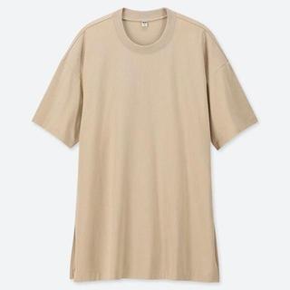 UNIQLO オーバーサイズ 半袖 Tシャツ ルーズ ワイド ビッグ(Tシャツ/カットソー(半袖/袖なし))
