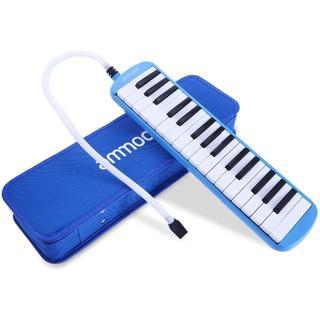ammoon 鍵盤ハーモニカ 32鍵 ピアノスタイル マウスピースクリーニングク(キーボード/シンセサイザー)