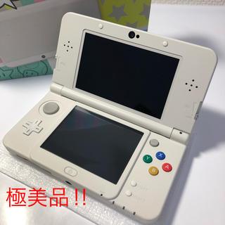 ニンテンドー3DS(ニンテンドー3DS)の★極美品‼︎ Nintendo 3DS NEW ニンテンドー 本体 ホワイト (携帯用ゲーム機本体)
