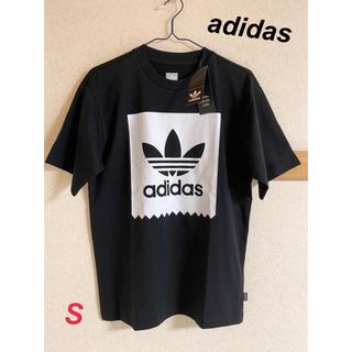adidas - 新品 adidas メンズ クルーネックTシャツ ブラック S