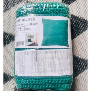 イケア(IKEA)のIKEA 新作 クッションカバー SOTHOLMEN 2個セット 完売カラー(クッションカバー)