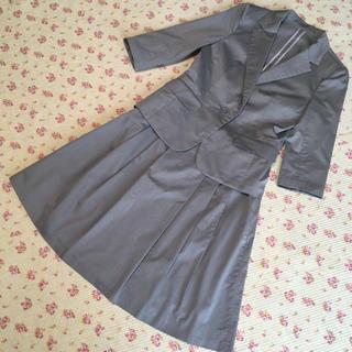 アールユー(RU)のアールユー スカートスーツ 2 W66 サマー 夏 洗濯可 OL DMW(スーツ)