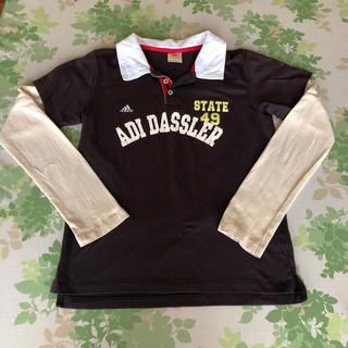 アディダス(adidas)のアディダスレディースポロシャツ Lサイズ(ポロシャツ)