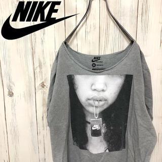 NIKE - 【希少】NIKE ナイキ ドデカプリント入り Tシャツ XLサイズ