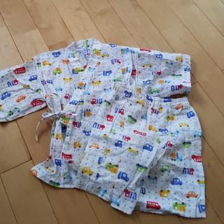 ミキハウス(mikihouse)の美品 甚平110cm  ミキハウス(甚平/浴衣)