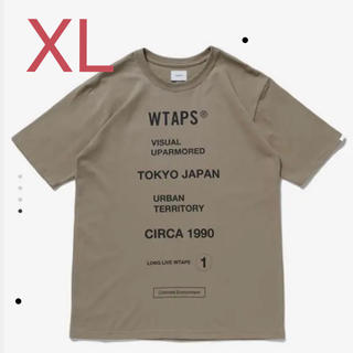 W)taps - WTAPS CIRCA SS BEIGE XLサイズ
