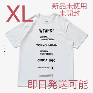 ダブルタップス(W)taps)のWTAPS CIRCA SS TEE WHITE XLサイズ(Tシャツ/カットソー(半袖/袖なし))