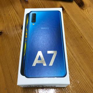 Galaxy - 楽天モバイル SAMSUNG Galaxy A7 一括購入品