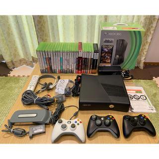エックスボックス360(Xbox360)のMicrosoft Xbox360  250GBとソフト24本セット(家庭用ゲーム機本体)
