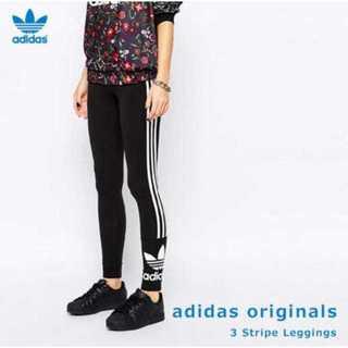 アディダス(adidas)のadidas originals スキニー ラインレギンス レギンス L(レギンス/スパッツ)