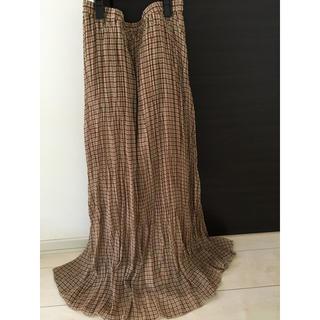 IENA SLOBE - スローブイエナプリーツスカート