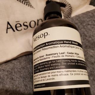 イソップ(Aesop)のイソップ 巾着袋付き☆ Aesop レスレクション ハンドウォッシュ 500ml(ハンドクリーム)