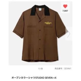 GU - GU スタジオセブン オープンカラーシャツXL