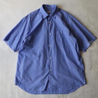 COMOLI - comoli 20ss ショートスリーブシャツ sax