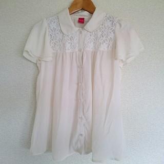 オリーブデオリーブ(OLIVEdesOLIVE)の授乳服 半袖 L (マタニティトップス)