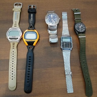 SEIKO - 腕時計 ジャンク5点セット 動作未確認