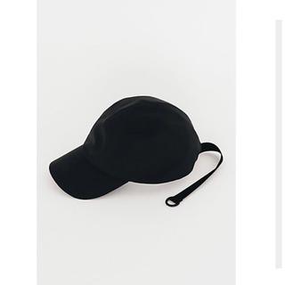 ハイク(HYKE)のadidas by HYKE CAP ハイク アディダス キャップ 黒 新品(キャップ)